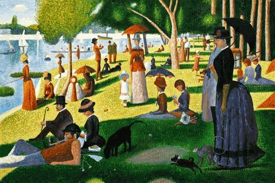 sunday afternoon la grande jatte